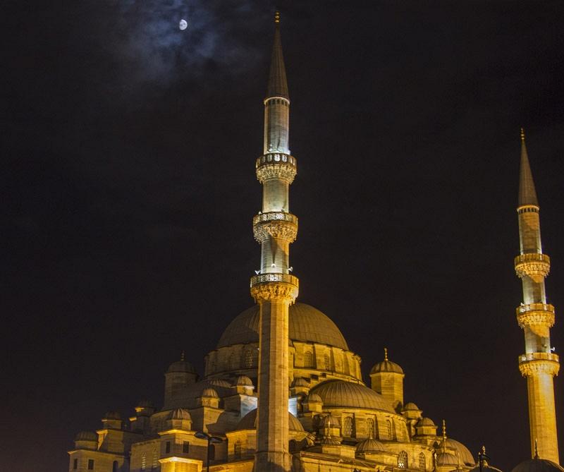 Yeni Cami Moskee
