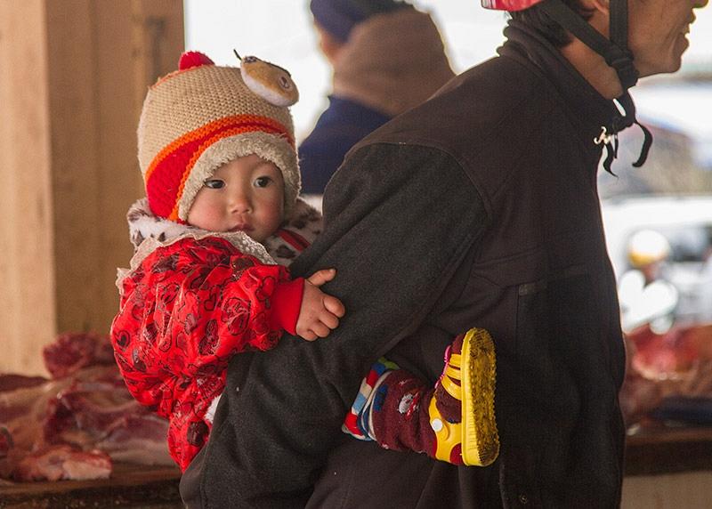 Hmong kindje