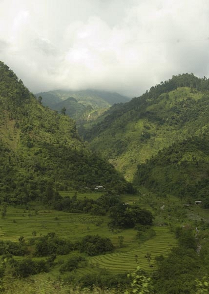 Omgeving Khatmandu