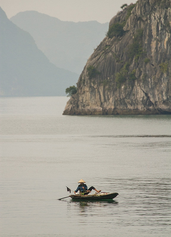 Traditionele visser