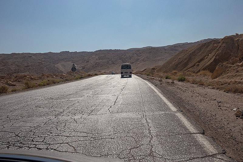 Route Dana National Park