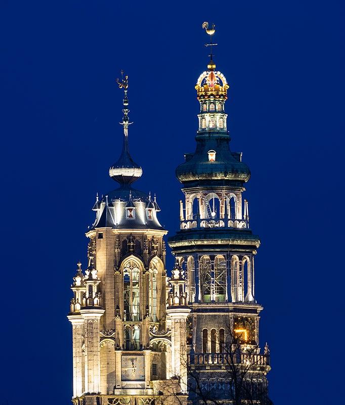 Stadhuistoren en Lange Jan